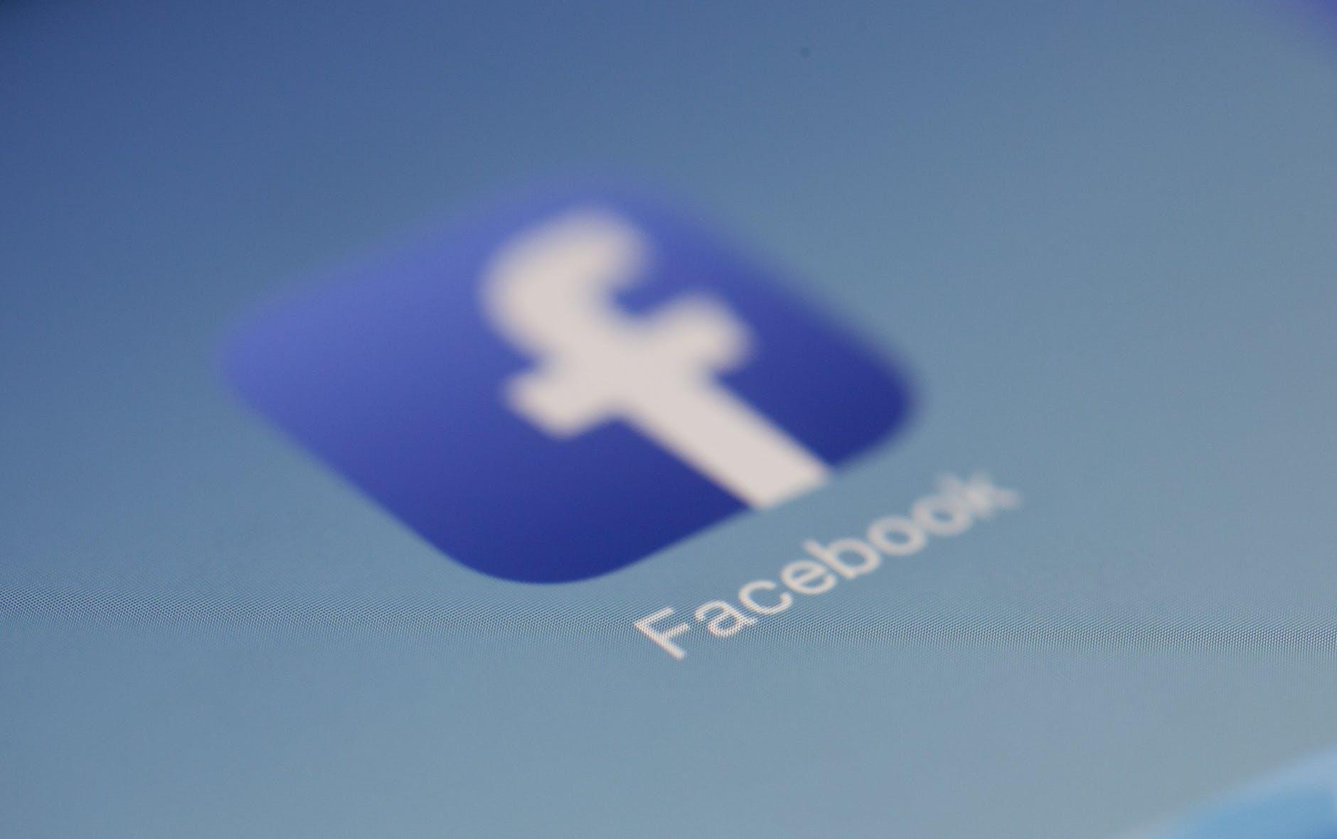 Facebook logo application