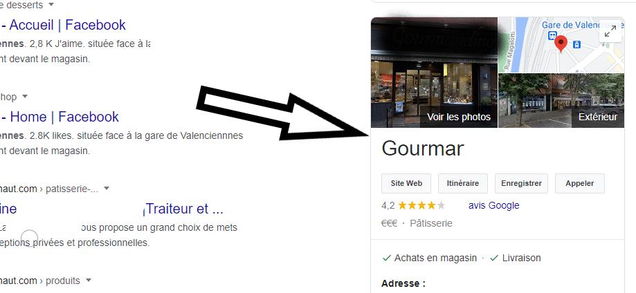 Google capture d'écran