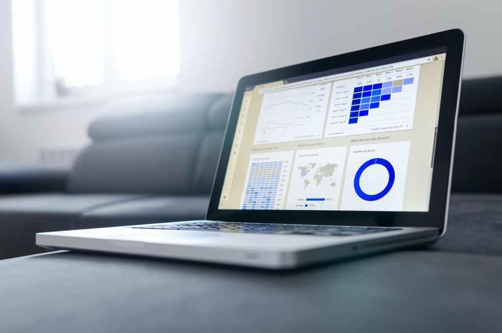ordinateur portable analyse statistiques