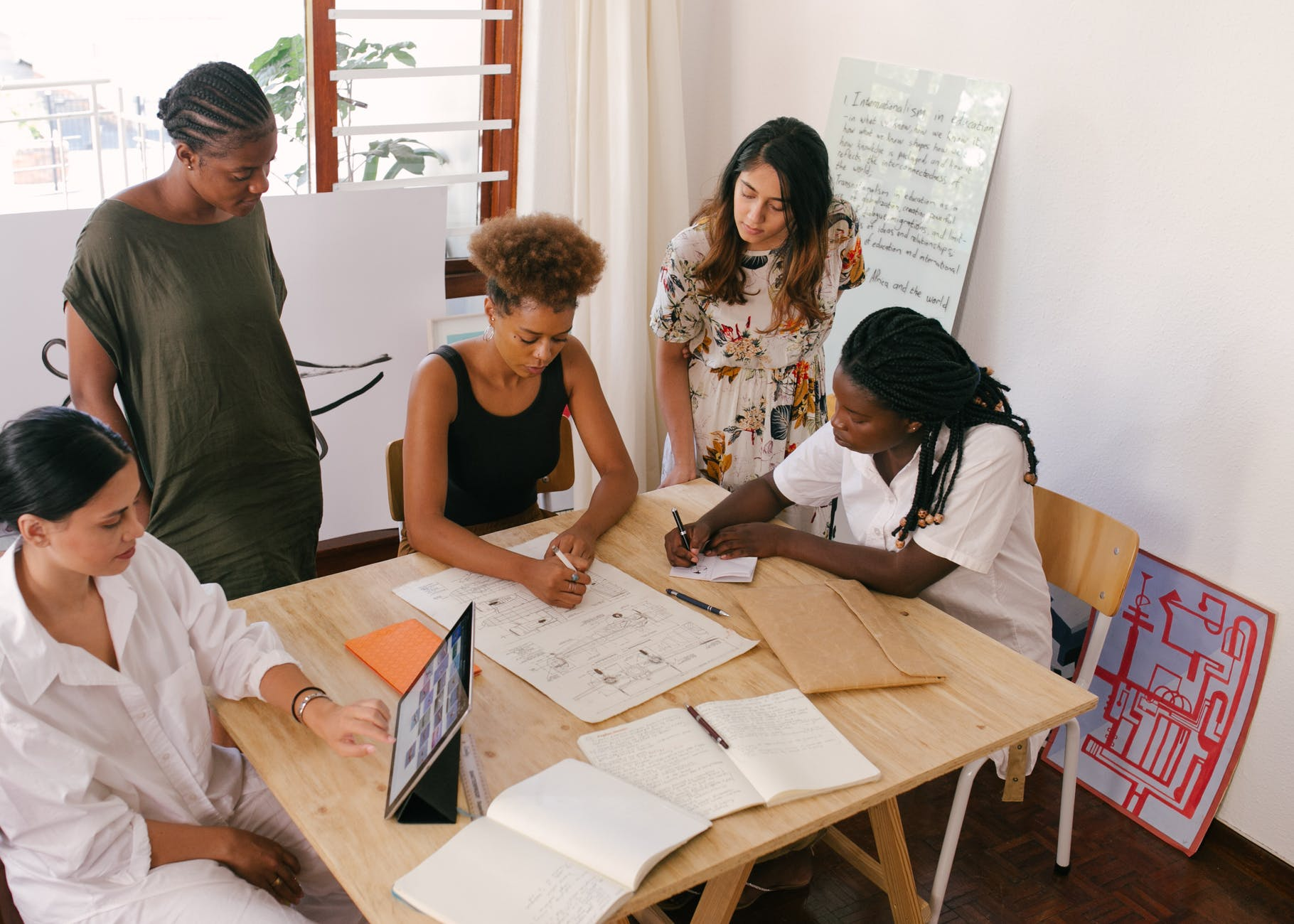 réunion stratégique femmes